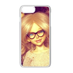 Girls With Glasses Apple Iphone 8 Plus Seamless Case (white)