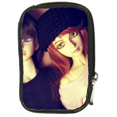 Couple Compact Camera Leather Case by snowwhitegirl
