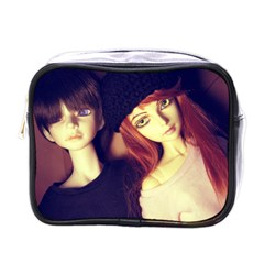 Couple Mini Toiletries Bag (one Side) by snowwhitegirl