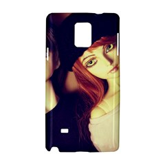 Couple Samsung Galaxy Note 4 Hardshell Case by snowwhitegirl