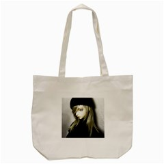 Black Angel Tote Bag (cream)