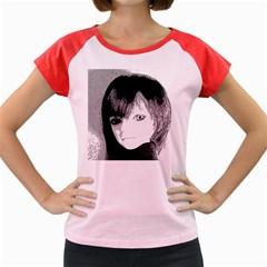 Boy Women s Cap Sleeve T-shirt by snowwhitegirl
