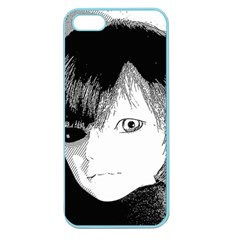 Boy Apple Seamless Iphone 5 Case (color) by snowwhitegirl