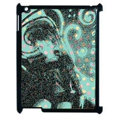 Grainy Angelica Apple Ipad 2 Case (black) by snowwhitegirl
