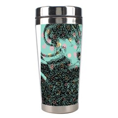 Grainy Angelica Stainless Steel Travel Tumblers by snowwhitegirl