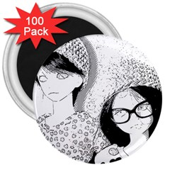 Twins 3  Magnets (100 Pack)