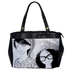 Twins Oversize Office Handbag by snowwhitegirl