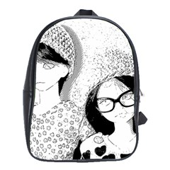 Twins School Bag (xl) by snowwhitegirl