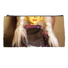 Eating Lunch Pencil Cases by snowwhitegirl
