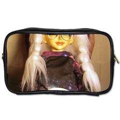 Eating Lunch Toiletries Bag (two Sides) by snowwhitegirl