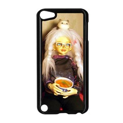 Eating Lunch Apple Ipod Touch 5 Case (black) by snowwhitegirl