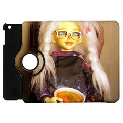 Eating Lunch Apple Ipad Mini Flip 360 Case by snowwhitegirl