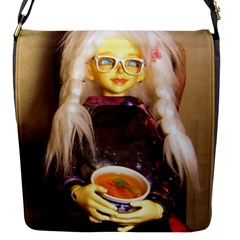 Eating Lunch Flap Closure Messenger Bag (s) by snowwhitegirl