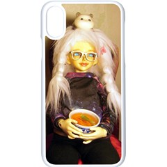 Eating Lunch Apple Iphone X Seamless Case (white) by snowwhitegirl