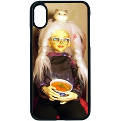 Eating Lunch Apple Iphone X Seamless Case (black) by snowwhitegirl