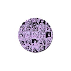 Lilac Yearbook 1 Golf Ball Marker by snowwhitegirl
