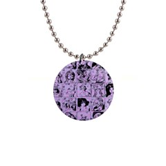 Lilac Yearbook 1 Button Necklaces by snowwhitegirl