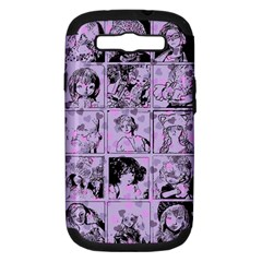 Lilac Yearbook 1 Samsung Galaxy S Iii Hardshell Case (pc+silicone) by snowwhitegirl