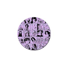 Lilac Yearbook 2 Golf Ball Marker (4 Pack) by snowwhitegirl