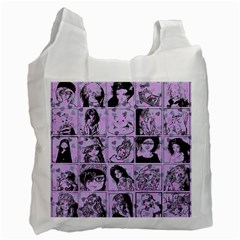 Lilac Yearbook 2 Recycle Bag (one Side) by snowwhitegirl
