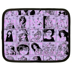 Lilac Yearbook 2 Netbook Case (xxl) by snowwhitegirl