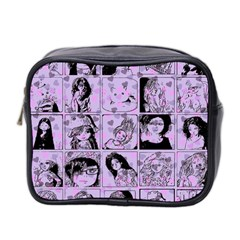 Lilac Yearbook 2 Mini Toiletries Bag (two Sides) by snowwhitegirl