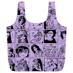Lilac Yearbook 2 Full Print Recycle Bag (xl) by snowwhitegirl