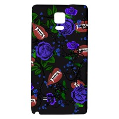 Blue Rose Vampire Samsung Note 4 Hardshell Back Case by snowwhitegirl