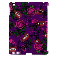 Purple  Rose Vampire Apple Ipad 3/4 Hardshell Case (compatible With Smart Cover) by snowwhitegirl