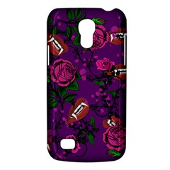 Purple  Rose Vampire Samsung Galaxy S4 Mini (gt I9190) Hardshell Case  by snowwhitegirl