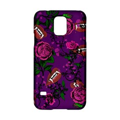 Purple  Rose Vampire Samsung Galaxy S5 Hardshell Case  by snowwhitegirl
