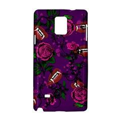 Purple  Rose Vampire Samsung Galaxy Note 4 Hardshell Case