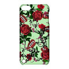 Green Rose Vampire Apple Ipod Touch 5 Hardshell Case With Stand by snowwhitegirl