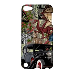 Steampunk Collage Apple Ipod Touch 5 Hardshell Case by snowwhitegirl