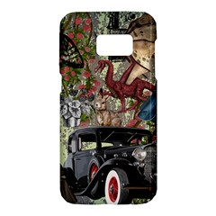 Steampunk Collage Samsung Galaxy S7 Hardshell Case  by snowwhitegirl