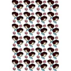 Redhead Girl Pattern 5 5  X 8 5  Notebook by snowwhitegirl