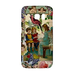 Angel Collage Samsung Galaxy S6 Edge Hardshell Case by snowwhitegirl