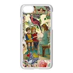 Angel Collage Apple Iphone 7 Seamless Case (white) by snowwhitegirl