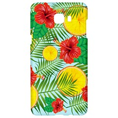 Orange Tropics Blue Samsung C9 Pro Hardshell Case  by snowwhitegirl