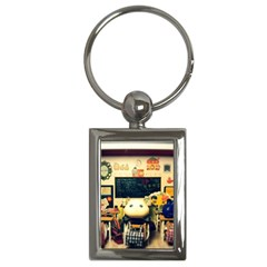 School Of Pets Key Chains (rectangle)  by snowwhitegirl