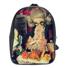 Happy Holidays School Bag (large)