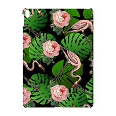Flamingo Floral Black Apple Ipad Pro 10 5   Hardshell Case by snowwhitegirl