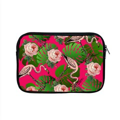 Flamingo Floral Pink Apple Macbook Pro 15  Zipper Case by snowwhitegirl