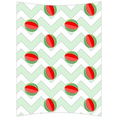 Watermelon Chevron Green Back Support Cushion by snowwhitegirl
