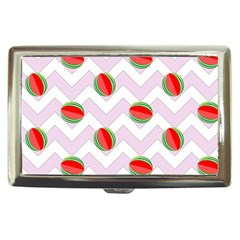 Watermelon Chevron Cigarette Money Cases by snowwhitegirl