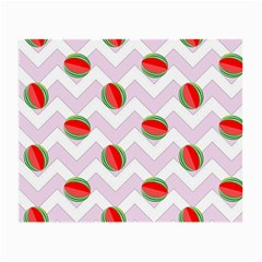 Watermelon Chevron Small Glasses Cloth