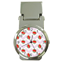 Watermelon Chevron Money Clip Watches