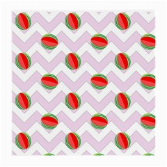 Watermelon Chevron Medium Glasses Cloth (2-Side)
