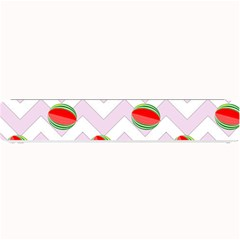 Watermelon Chevron Small Bar Mats