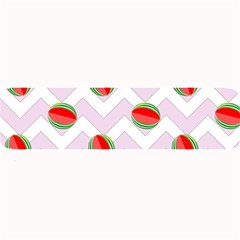 Watermelon Chevron Large Bar Mats